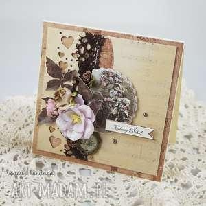 ręcznie zrobione scrapbooking kartki kartka dla babci