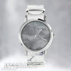 Prezent Zegarek - Wild Life marmurkowy, nato, zegarek, bransoletka, las