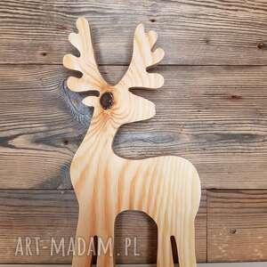 Pomysł na prezent święta! Jelonek - 24 cm ozdoby świąteczne