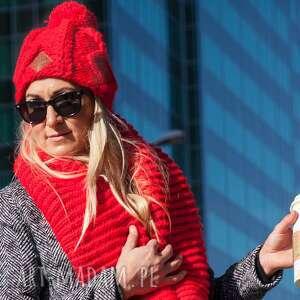czapka im a hero 4, zima, ciepła, czapka, pompon, polar