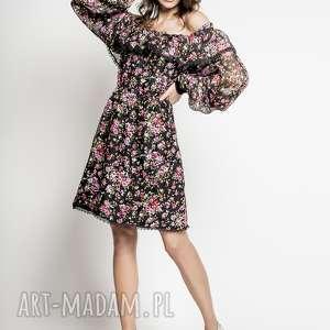 2f568236f98bba mikoto - jedwabna sukienka hiszpanka - hiszpanka, sukienka hiszpanka,  sukienka, sukienka