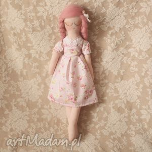 kwiatowa bajka - lalka różyczka - lalka