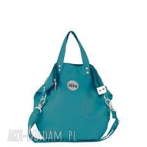 Worek Small Sea Turq, torba, podróż, zakupy, na-ramię, morski,