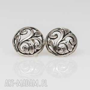 Floresy - kolczyki srebrne a094, kolczyki, sztyfty