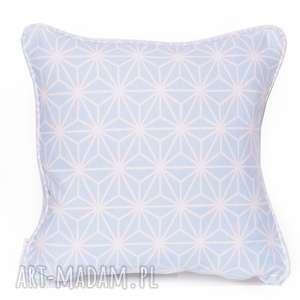 poduszka diamond - heavenly blue 40x40cm, poduszka-ozdobna, poduszka-dekoracyjna