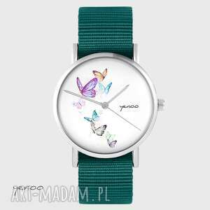 zegarek yenoo - motyle morski, nato, zegarek, pasek, typu motyl