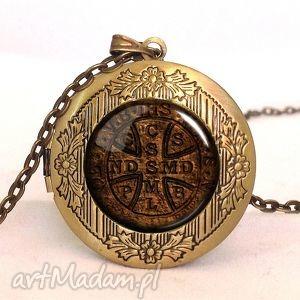 handmade naszyjniki pieczęć - sekretnik z łańcuszkiem