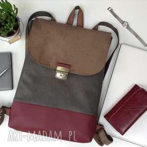 handmade plecak na laptopa