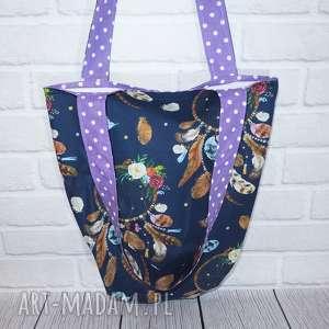 hand-made eco torba bawełniana