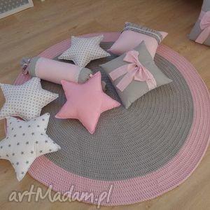 dywan pink rainbow, dywan, dywanik, chodnik, szurek, bawełna