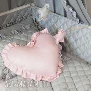 Ochraniacz do łóżeczka pikowany szary, ochraniacz, ochraniacz-do-łóżeczka