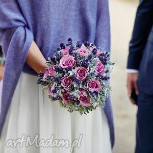 ręczne wykonanie ślub szal z jedwabnego moheru
