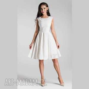 sukienki sukienka scarlett mini haft angielski biel, bawełniana