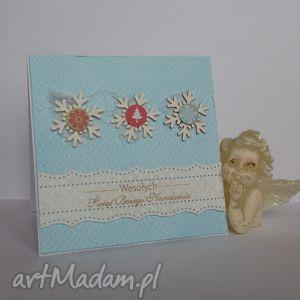 bluebell-chandlery kartka świąteczna - zimowy poranek 3 życzenia