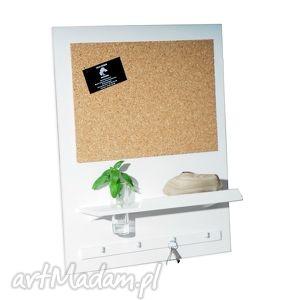 silva design set3 - organizer drewniany tablica korkowa, organizer