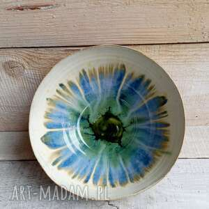 ceramiczna misa oko, ceramiczna, ręcznie wykonana, na prezent