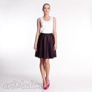 ręcznie zrobione spódnice roseline - spódnica fuksja