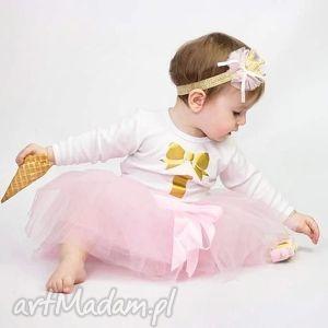 ręcznie robione ubranka spódniczka tiulowa - little princess