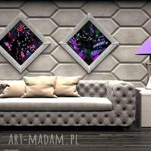 panele ścienne - zicaro sonic imitacja betonu, dekoracje, panele, ścany, ozdoby