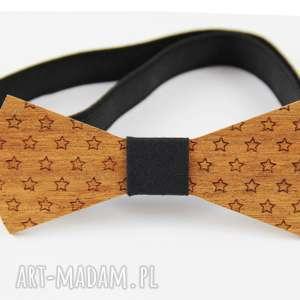 Muszka drewniana muchy i muszki the bow ties gwiazdy, gwiazdki