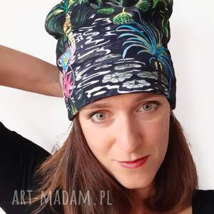 świąteczny prezent, czapka no 18, palmy, pejzaż, egzotyczna wyspa