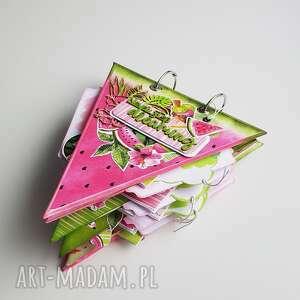 wyjątkowy wakacyjny album na zdjęcia w kształcie arbuza, album, prezent, iride