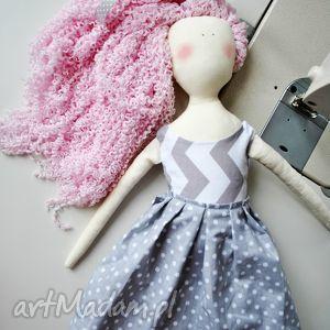 lalki pani lala, lalka, handmade, szmacianka, pamiątka, ruda, szmaciana dla dziecka