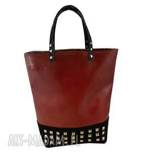 rock hannah leather, skóra, filc, royaltrend, rock, modna, jesień torebki, prezent na
