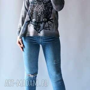 ręcznie wykonane swetry sweter damski oversize