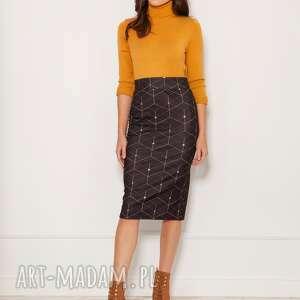 ręcznie wykonane spódnice spódnica ołówkowa z dzianiny punto, sp128