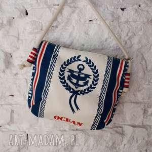 mini marine płótno, mini, marine, torebka, torba, plaża