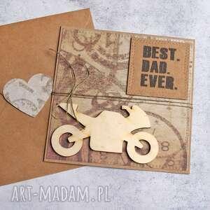 kartki dla taty kartka taty-motocyklisty, tata, taty, dzień ojca