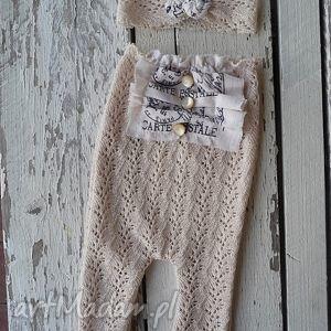 zestaw vintage, ubranka, dziecko, sesje, noworodek