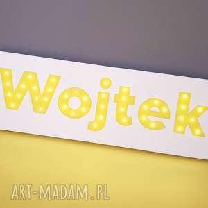 Prezent NAPIS LED Twoje Imię obraz dekoracja lampa personalizowany prezent na