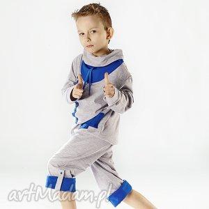 Bluza CHB01N, bluza, guziczki, sznurowadła, stylowa, dresowa, sportowa