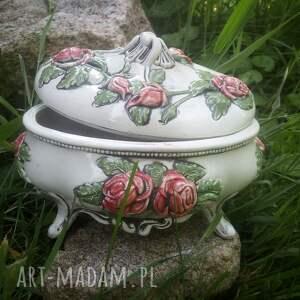 święta, pudełko ceramiczne, ceramika, na biżuterię, prezent, ceramiczne