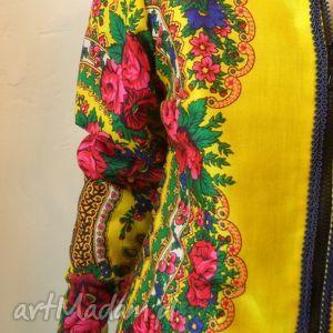 hand-made kurtki folk design- kurtka letnia