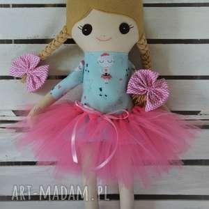 ręcznie zrobione lalki szmacianka, szmaciana lalka w tutu julia
