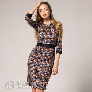 Sukienka Carla Diamond, ołówkowa-sukienka, sukienki-do-pracy, dopasowana-sukienka
