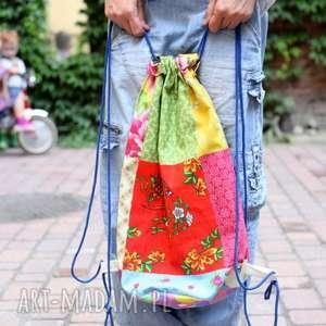 Prezent duży plecak na lato, plecak, torba, rower, worek, mama, prezent