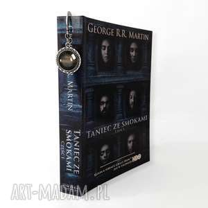 Zakładka do książki Valar Morghulis - ,zakładka,książki,gra,tron,serial,cytatem,