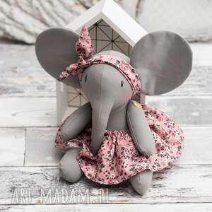 słonik przytulanka prezent personalizacja, słonik, prezent, pluszak