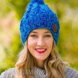 Smile błękity czapki brain inside czapki, dodatki, czapkazimowa