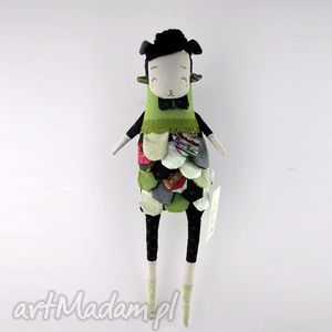 upominek święta Nutria lalka / przytulanka hand made, prezent, urodziny, roczek