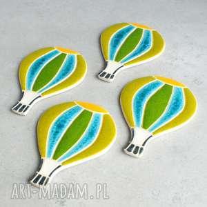 ręcznie zrobione dla dziecka balon - magnes