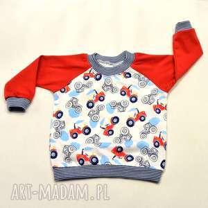 TRAKTORY cienka bluza dla chłopca, 68-98, bawełna, bluza-dla-chłopca