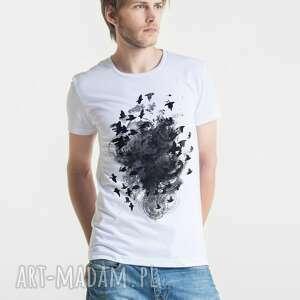 BLACK BIRDS T-shirt Męski, męski