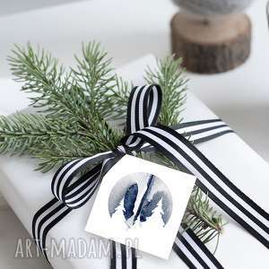 Na święta prezenty! Bileciki na świąteczne prezenty 6 szt
