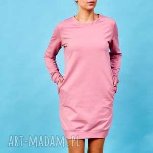 hand-made sukienki różwa sukienka