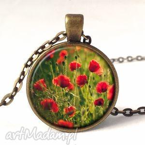 maki - medalion z łańcuszkiem, prezent kwiaty, lato